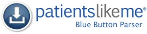 PatientsLikeMe Blue Button Parser