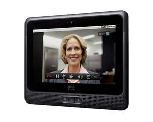 The Cisco Cius: Cisco's highly secure, built-for-business mobile collaboration device in the tablet form-factor.