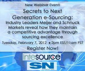 webinar, e-sourcing, procurement, reverse auction, grocery, supermarket, retail