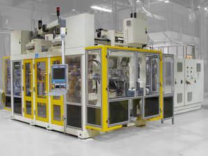 Graham Engineering dual sided shuttle blow molding machine