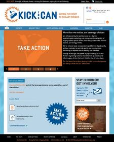 A screenshot of www.KickTheCan.info