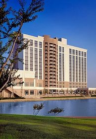Golf fans can find the perfect accommodations in Irving at the Dallas Marriott Las Colinas Hotel
