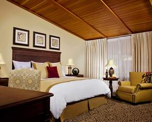 A guest room at Westward Look Wyndham Grand Resort and Spa