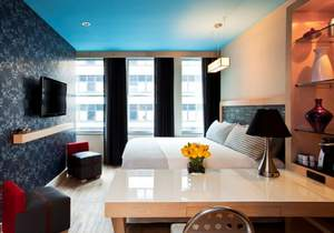 A TRYP room at TRYP New York City Times Square South