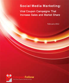 Online Coupon Coupon Research Report - Feb 2012