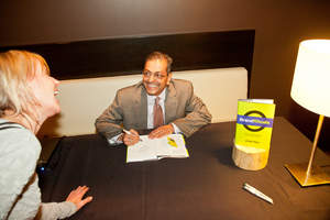 Zain Raj signing his book 'Brand Rituals' in Chicago
