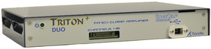 TritonDuo - 16-channel, current clamp and voltage clamp patch clamp amplifier