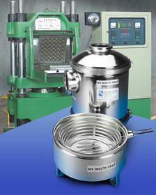 The MV Multi-Trap(R) Vacuum Inlet Trap removes volatile vapors