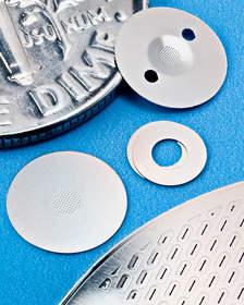 Aerosol Nozzle plates feature high definition with venturi profile
