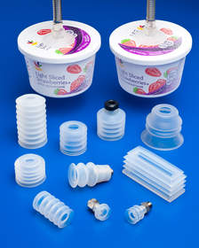 Anver Food Grade Silicone Suction Cups