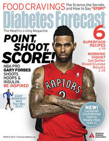 Diabetes Forecast March 2012 cover