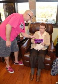 Rock Pink and Florida Hospital Partner to Bring Humanity to Chemo Patients