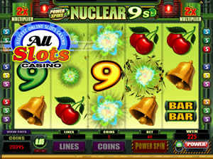 Power Spins - Nuclear 9s at All Slots Casino