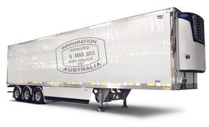 Australia, ArcticLite, refrigerated van, semitrailer