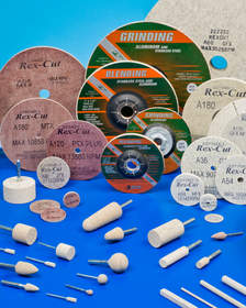 Rex-Cut Abrasives cotton fiber abrasive grinding and finishing wheels