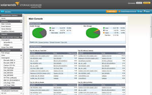 SolarWinds Storage Manager, Powered by Profiler