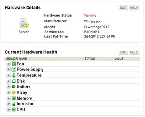 server hardware health monitor