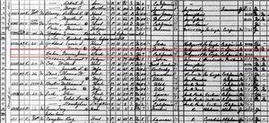 1940 Census, Marilyn Monroe