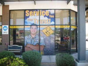 Window graphics from E & E Graphic Innovations