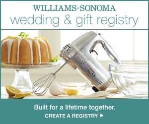 Williams-Sonoma Wedding Registry