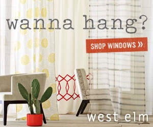 West Elm Window Coverings
