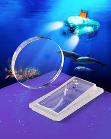 Meller Sapphire Optics for use in submersibles and AUVs