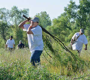 Fairmount Minerals' Summit Day of Caring at the Conservancy for Cuyahoga Valley National Park