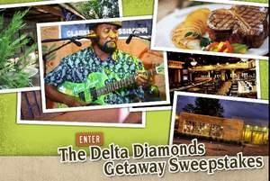 Enter the Delta Diamonds Getaway Sweepstakes