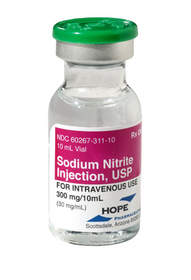 Image of Hope Pharmaceuticals' FDA-Approved Sodium Nitrite Injection
