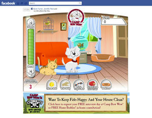 Camp Bow Wow Launches Facebook Game