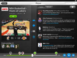 iPad player