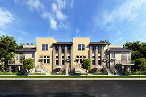 new south bay townhomes, private la townhomes, gated townhomes near beach