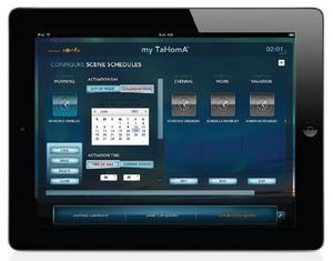 Somfy TaHomA iPad