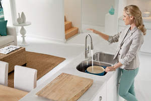 Moen kitchen faucet with MotionSense