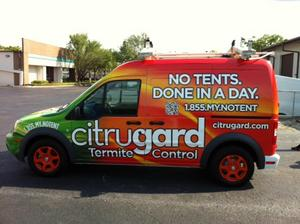 Citrugard Termite Control Introduces its 'No Tents. Done in a Day.' orange oil treatment.