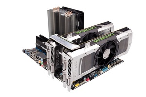 With two GeForce GTX 690s installed in the PC in Quad SLI mode, gamers can harness the power of four GPUs, each working in unison. The resulting performance is simply otherworldly.