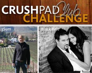 Crushpad Challenge Winners: Meggan Sorensen (3Sum) and Kyle & Casey Kaczmarek (Black Belt)