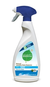 Seventh Generation's Natural Laundry Stain Remover featuing the USDA's Certified Biobased product label.