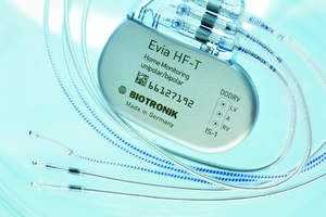 BIOTRONIK, pacemaker, CRT, Evia HF-T, MRI, scans, leads, medical devices