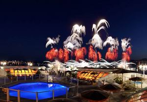 La Croisette Cannes hotel with terrace