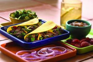 Mango BBQ American Lamb Tacos