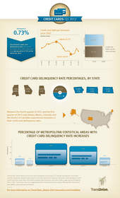 credit card, TransUnion, infographic