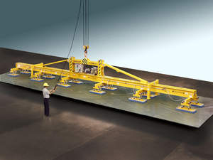 Heavy-duty, high capacity vacuum lifter for ferrous and nonferrous plate