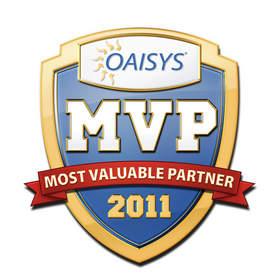Warwick Communications Receives OAISYS' MVP Award