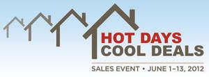 "Beazer Homes ""Hot Days, Cool Deals"" Sales Event, June 1-13, 2012."
