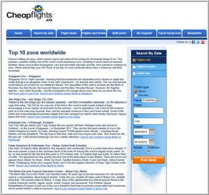 Cheapflights.ca's Top 10 Zoos Worldwide
