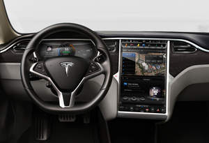 NVIDIA Tegra module in Tesla Motors Model S electric sedan