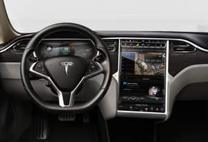 NVIDIA Tegra module in Tesla Motors Model S electric sedan