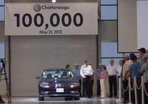 Passat, Volkswagen, sales, U.S market, Chattanooga plant