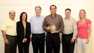 Omron presents TTI with Asset Manager of the Year Award